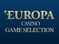 Europa Casino Game Selection
