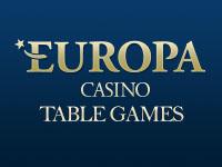 Europa Casino Table Games