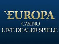 Europa Casino Live Dealer Spiele