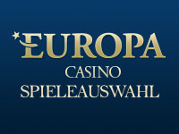 Europa Casino Spieleauswahl
